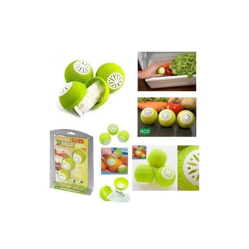 Поглотитель запаха для холодильника в форме шарика Fridge Balls