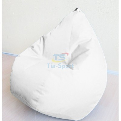 Кресло груша Оксфорд Белый