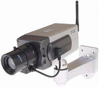 Муляж камеры видеонаблюдения с датчиком движения WIRELESS