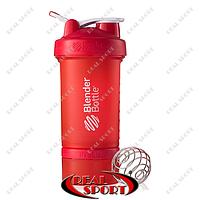 Шейкер BlenderBall SportMixer ProStak 22oz 650ml красный
