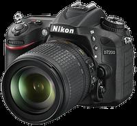 NIKON D7200 kit 18-105mm VR Black