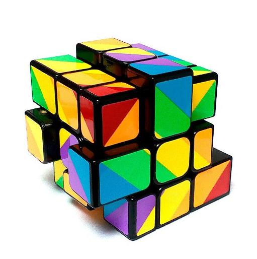 Кубик Рубика Inequilateral / Зеркальный (YJ8530)