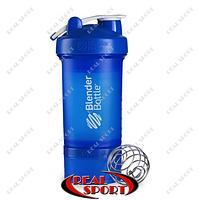 Шейкер BlenderBall SportMixer ProStak 22oz 650ml синий, фото 1
