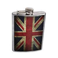 "Фляга оригинальная, ""Great Britain flag"""
