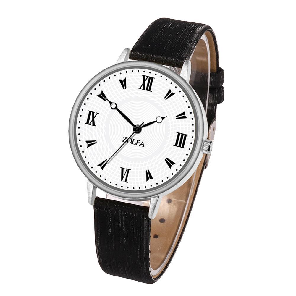 Женские часы Zolfa с черным ремешком   9315-1