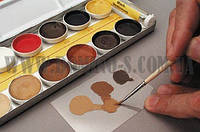 Набор красок для ретуширования