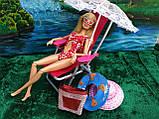 Круг для купания голубой (аксессуары для кукол), фото 2