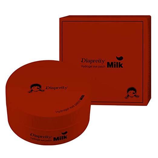 Гидрогелевые патчи c женьшенем Diapretty Hydrogel eye patch red ginseng