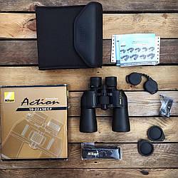 Бинокль Nikon Action VII 10-22x50