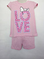 Летняя пижама костюм для девочки Hello Kitty 1-2 года. 4-6 лет