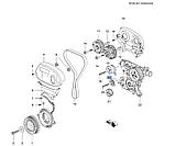 Ролик натяжной ремня ГРМ Круз 1.6-1.8i, Cruze J300, 55574864, GM, фото 5
