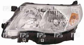 Фара передняя для Subaru Forester 08-12 правая (DEPO) под электрокорректор