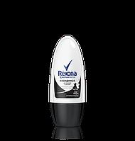 Шариковый дезодорант Rexona Невидимый на черном и белом