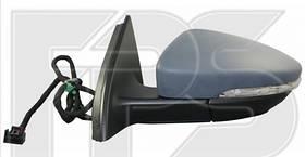 Зеркало левое электро с обогревом PASSAT B7 11-