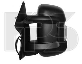 Зеркало левое электро с обогревом с указателем поворота без подсветки Jumper 2006-14