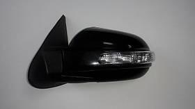 Зеркало левое электро с обогревом текстурное Hyundai ix35 2010-