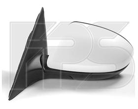 Зеркало левое электро с обогревом грунт асферич 6 2010-13