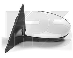 Зеркало левое электро с обогревом складывающееся грунт асферич 6 2010-13