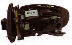 Зеркало левое электро с обогревом без крышки асферич 7pin с указателем поворота без подсветки без кабеля 203 2
