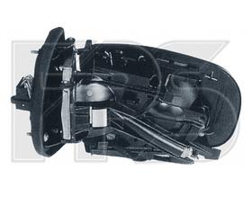 Зеркало правое электро с обогревом без крышки асферич 7pin с указателем поворота без подсветки 210 1995-99