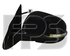 Зеркало левое электро с обогревом складывающееся грунт 9pin с указателем поворота без подсветки Outlander 2012