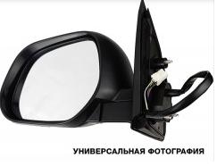 Зеркало правое электро с обогревом грунт с указателем поворота без подсветки 2009- Navara 2005-14