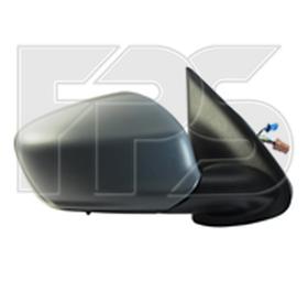 Зеркало правое электро с обогревом 7pin с датчиком температуры 301 2013-