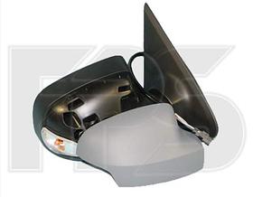 Зеркало правое электро с обогревом грунт с указателем поворота без подсветки Logan 2013-