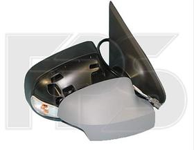 Зеркало правое механическое без обогрева грунт с указателем поворота с подсветкой Logan 2013-