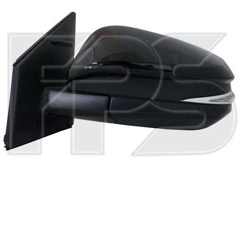 Зеркало лев. эл. с обогр. выпукл. 11PIN +УК. пов. +подсвет.  Toyota Rav4 2013-15