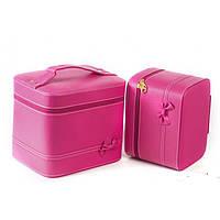 Кейс для косметики и украшений  2 в 1,розовый