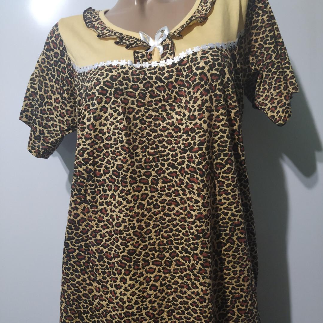 Ночная рубашка платье женское домашнее размер 56