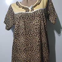 Ночная рубашка платье женское домашнее размер 50
