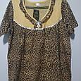 Ночная рубашка платье женское домашнее размер 56, фото 3