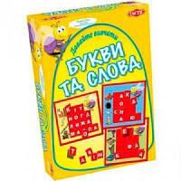 Настольная игра Tactic Давайте учить буквы и слова (40301)
