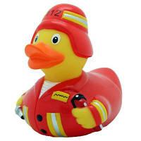 Игрушка для ванной LiLaLu Пожарный утка (L1828)
