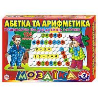 Настольная игра Технок Мозаика Азбука и арифметика (укр. яз) (2223)