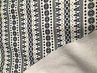Ангора на меху Снежинки темно синие, фото 1