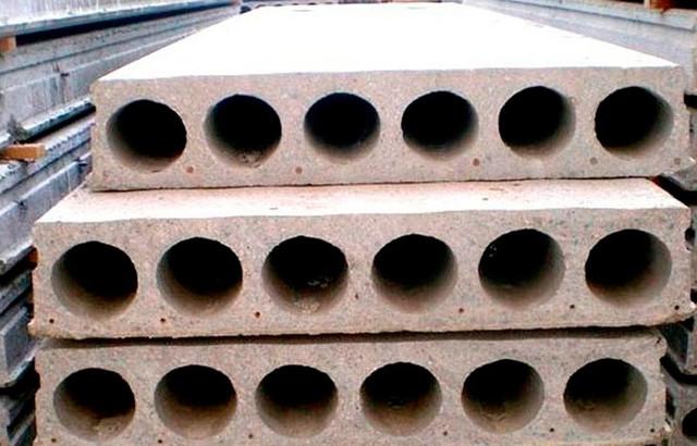 панели и плиты перекрытия