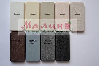 Мойка кухонная серая 59*50 см Адамант PRIZMA (разные цвета), фото 2