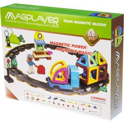 Конструктор Magplayer Набор 68 элементов (MPK-68)