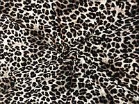 "Вискоза Принт ""Пятна"" гепард, фото 1"