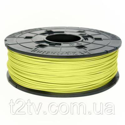 Пластик для 3D-принтера XYZprinting ABS 1.75мм/0.6кг Filament, Yellow (for da Vinci) (RF10BXEU05F)