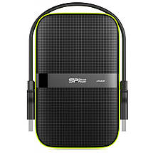 "Внешний жесткий диск 1 Тб Silicon Power Armor A60, Black, 2.5"", USB 3.0 (SP010TBPHDA60S3K), фото 3"