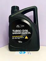 🌟Масло моторное SAE 5W30 API SM/GF-4/ACEA A3 Turbo Syn Hyundai/Kia (Оригинал, Mobis) 4L / 05100-00441