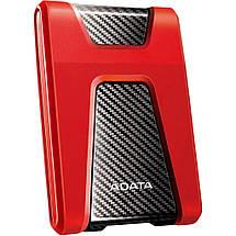 """Внешний жесткий диск 1 Тб A-Data DashDrive Durable HD650, Red, 2.5"""", USB 3.1 (AHD650-1TU31-CRD), фото 3"""
