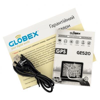 Автомобильный навигатор Globex GE520 3