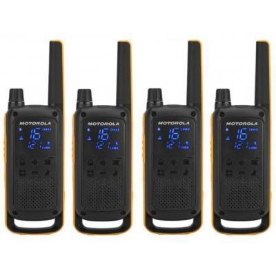 Портативная рация Motorola TALKABOUT T82 Extreme Quad Yellow Black (5031753007218)