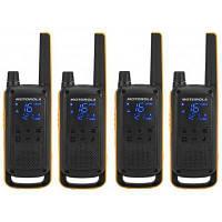 Портативная рация Motorola TALKABOUT T82 Extreme Quad Yellow Black (5031753007218), фото 1