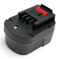 Аккумулятор к электроинструменту PowerPlant для BLACK&DECKER GD-BD-12(B) 12V 2Ah NICD (DV00PT0025)